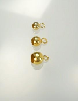 Ref. 170 Capsules pour colliers, petit anneau ouvert