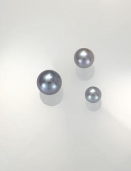 Ref. 870 Perles d'eau douce gris clair