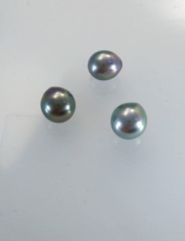 Ref. 890 Perles de Tahiti semi ronde