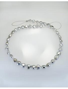 Ref. Spez2 Tahiti Perlen Strang barock Einzelstück