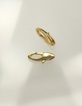 Ref. 110 Mousquetons sans anneau