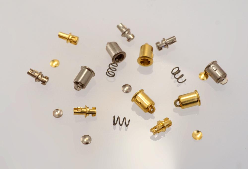 Bajonettverschluss-Teile